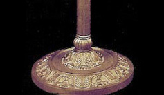 Hand Painted Brass