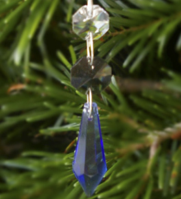 Icy Spear Point Crystal Decoration