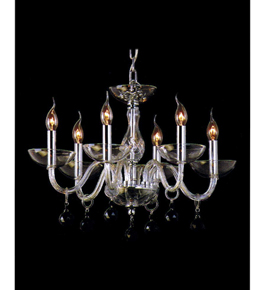 Hand Crafted Modern Glass Chandelier