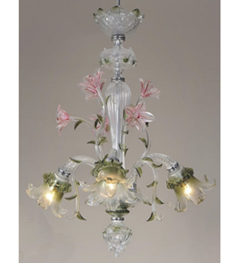 Canal Grande Murano Style Chandelier