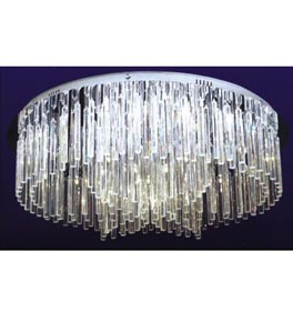 32 Light Icicle Flush Fitting Chandelier