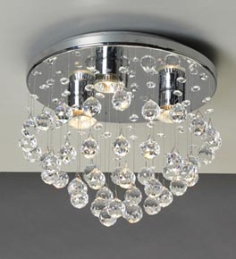Crystal Constellation Surface Mounted Chandelier