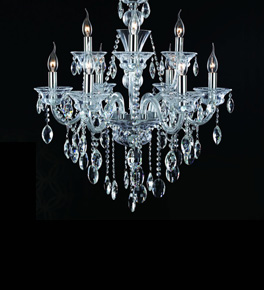 9 Light Crystal Hale Chandelier