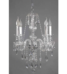 Hand Made Murano Glass Style Chandelier
