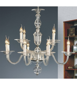 Classic Hand Made Murano Style Chandelier