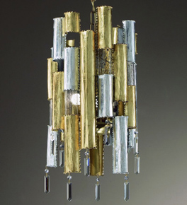 City Design Chandelier with Decorative Crystal Drops