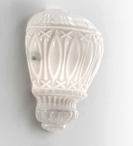 Arabesque Design Hot Air Balloon Glass Wall Light