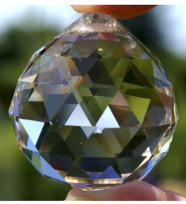 Faceted Crystal Balls