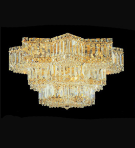 Modern Lead Crystal Chandelier