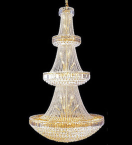 Tiered elegant regency style chandelier