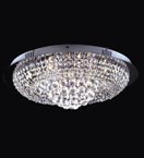 13 Light Crystal Ring Ceiling Light