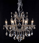 Classic Clear Crystal Chandelier