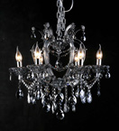 Classic Coloured Crystal Chandelier