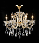 Traditional Laura Chandelier With Clear Crystal