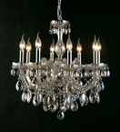 Classic Chandelier With Clear Crystal