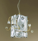 Musica Design Chandelier with Swarovski crystal details