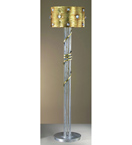 Eyes design Floor Lamp is hand decorated with crystal