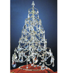 Christmas Tree Crystal Table Lamp
